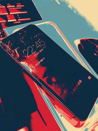 A broken mobile Hello World