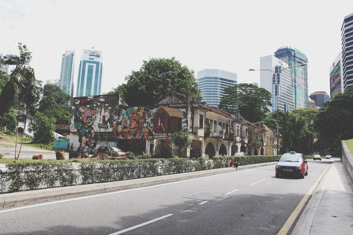 Different City Street Urban Exploration Street Photography Cityscapes Cityexplorer Urban Geometry Outdoors Kl Street in Kuala Lumpur Malaysia South East Asia