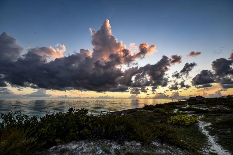 Sunrise. Sky