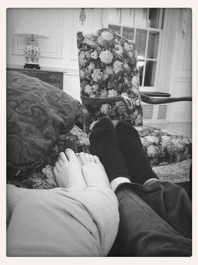 Me And Wyans Feet