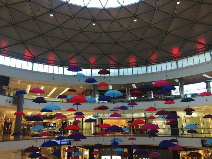Architecture Umbrella Illuminated