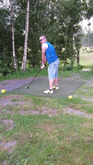 Golfing Småland That's Me Relaxing