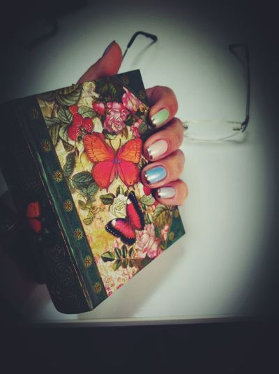 So today.. Nails Nailart  Butterfly Office That's Me Enjoying Life Photography Taking Photos Photooftheday Smile