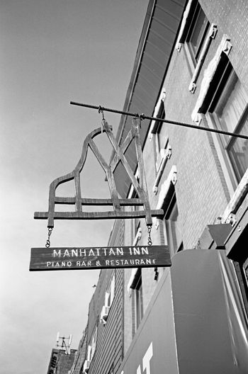 Manhattan Inn, Brooklyn, January 2016 Contax Contaxt3 Neopan Neopan Acros 35mm Film Film Photography Streetphoto_bw Street Photography Streetphotography Greenpoint Brooklyn NYC