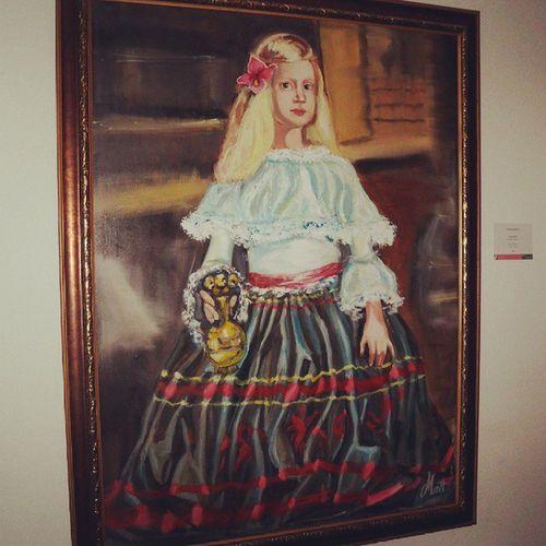 Una verdadera belleza Pintura Cuadro Chica Antiguo hermoso árt arte
