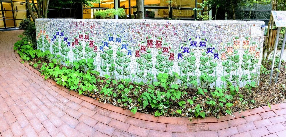 Tile mural 2 Santa Rosa CA Healing Garden Plant Growth Day Multi Colored Nature Green Color Outdoors Freshness No People Architecture Abundance Flowering Plant Plant Part Botany Garden