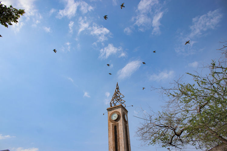 Clock tower of