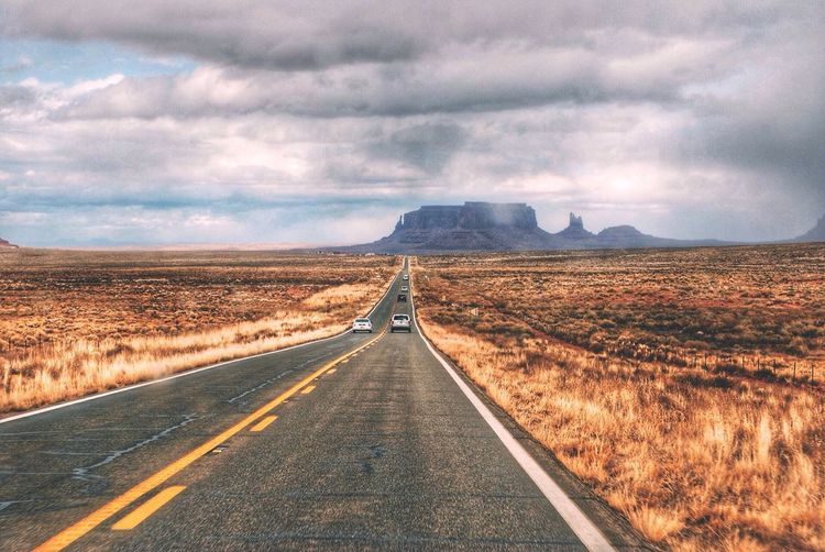 Road to monument valley Monument Valley Roads Utah Nature Colors Clouds And Sky First Eyeem Photo On The Way