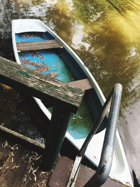 Boot Leipzig Kanal Ruderboot