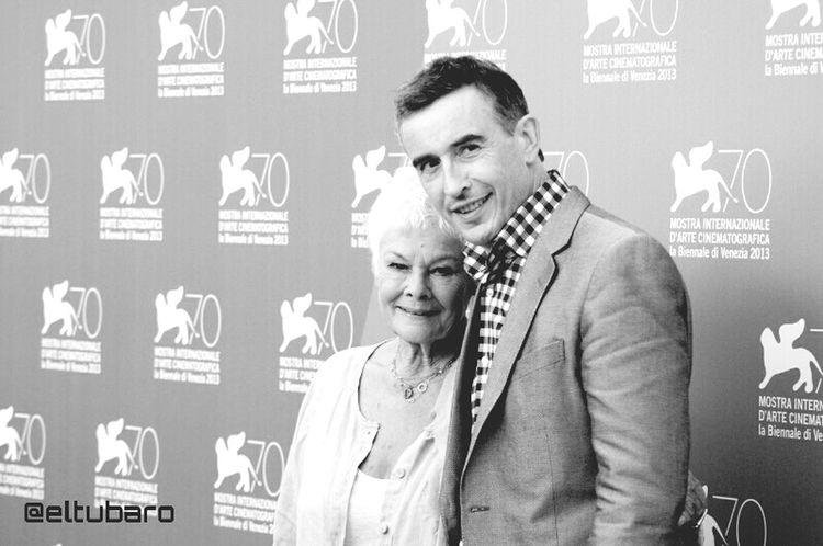 Judi Dench Steve Coogan Venicebiennale70 Photocall #philomena