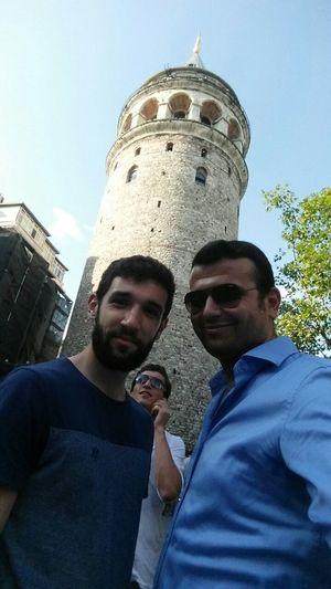 Friend Selfportrait My City Istanbul Galata