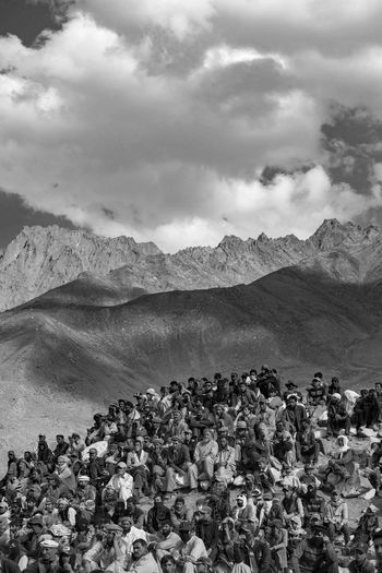 Mountain Landscape Rural Scene Pakistan People And Places EyeEm Selects EyeEm Best Shots Photojournalism People_bw Peopleandplaces Peopleofeyeem Culture And Tradition Outdoors Cloud - Sky Scenics Desert