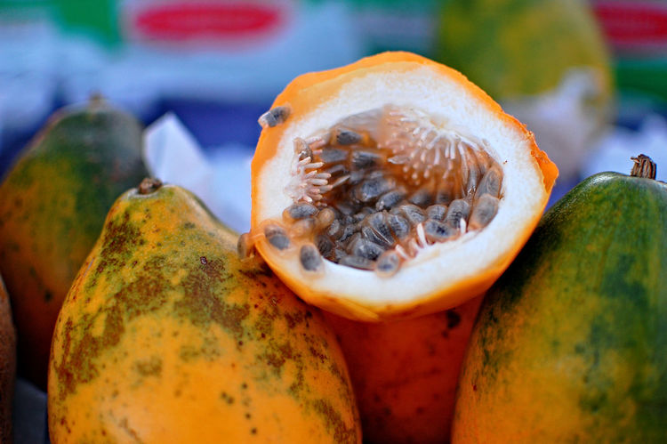 Passion Fruit Maracujá Fruits EyeEm Selects Food And Drink Food Healthy Eating Fruit No People Close-up Market Freshness Day