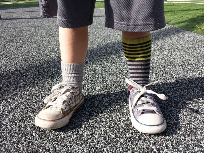 Enjoy The New Normal Mismatch Socks Two Right Feet Swag Fashion Street Style Uniqueness Summer Exploratorium