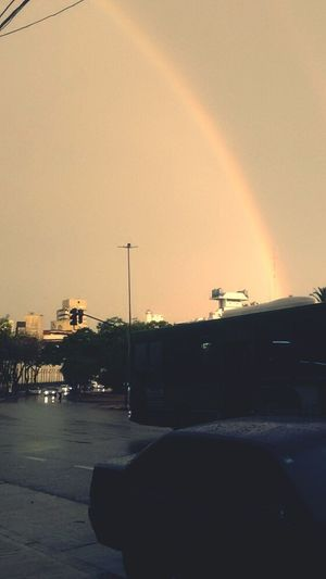 The moment after rain... Rainbow Light Rainbow No People Outdoors Travel Destinations Water Day Nature Sky City