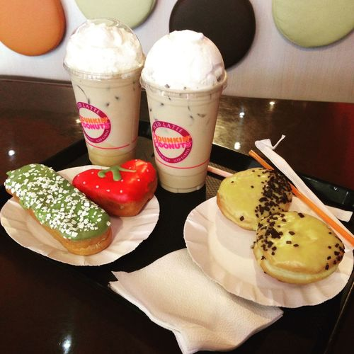 Donuts Food Moscow Friends