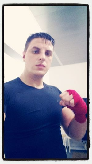 Kick Boxing After Training Boxing That's Me