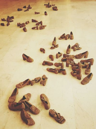Large Group Of Objects Group Of Objects Ideas Order Or Confusion? Exposition Palácio Das Artes Belo Horizonte Minas Gerais Brasil Artist Roberto Vieira Arqueology Shoes For Today