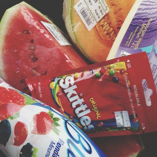 Watermelon Skittles Rockmelon Bliss