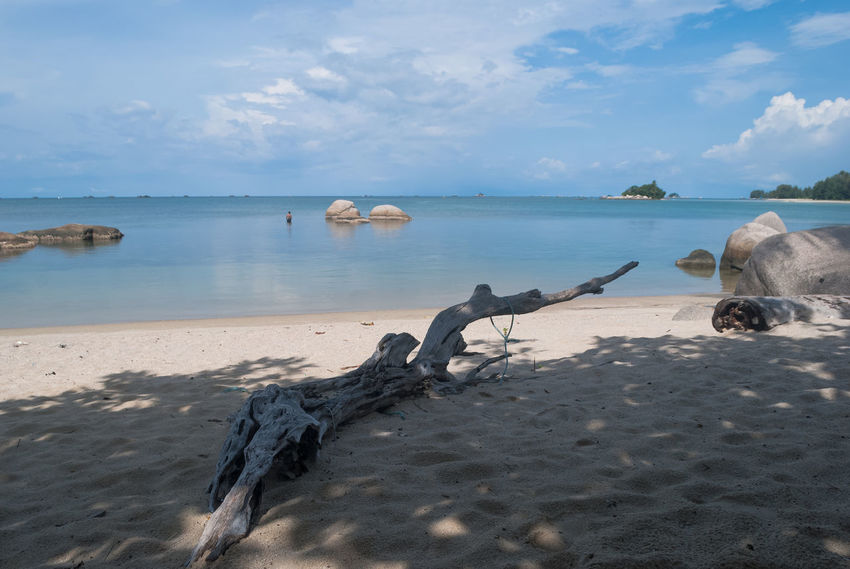 Let's vacation in Bintan island Beach Beuty Of Nature Bintan  Bintan Island Bintanisland Blue Blue Sky Cloud - Sky Daylight Holiday Rock Rock - Object Sea Sky Tranquil Scene Tranquility Travel Travel Destinations Trikorabeach Vacation Water