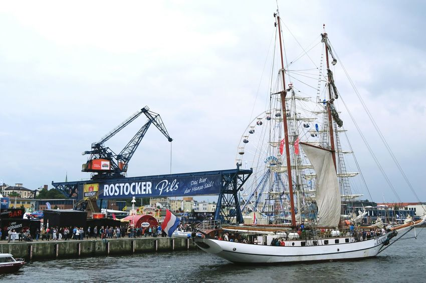 Hansesail in Warnemuende and Rostock 2016. Sailing boats from all over world meeting here for that yearly event. Boat Day HanseSail Hansesail 2016 Harbor Harbor Harbor View Mast Nautical Vessel Outdoors Rostock Rostock 2016 Rostocker Hafen Rostocker Stadthafen Sailboat Sailing Sailing Boat Sailing Boats Sailing Ship Ship Sky Water