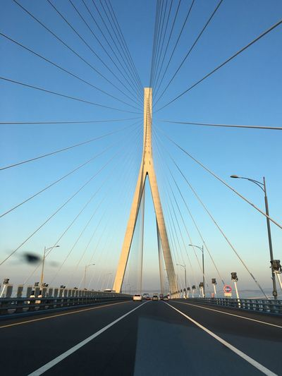 Incheon Bridge Taking Photos South Korea
