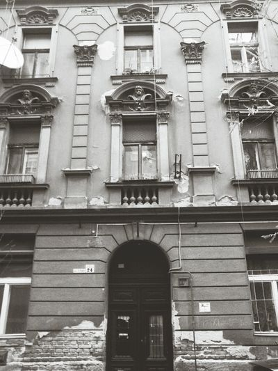 24. Budapest Hungary Blackandwhite Building