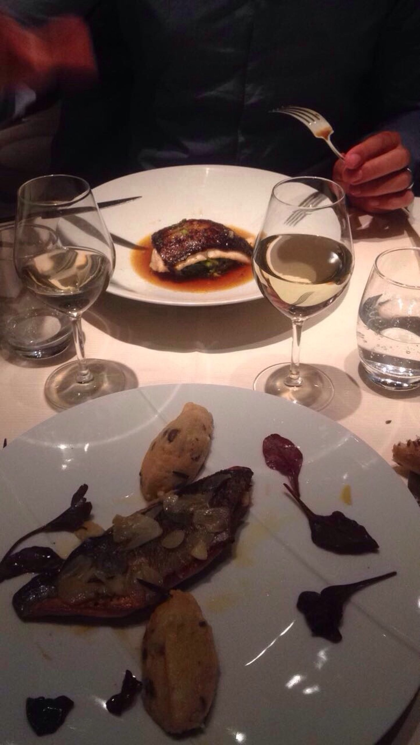 food and drink, food, plate, table, indulgence, wineglass, drinking glass, indoors, ready-to-eat, wine, freshness, serving size, high angle view, no people, drink, appetizer, alcohol, meal, gourmet, unhealthy eating, temptation, close-up, sweet food, day