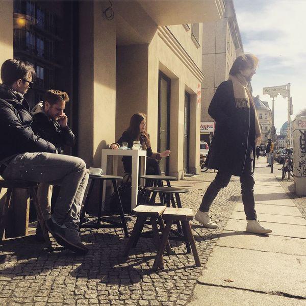 Sidewalk Coffee Lazysunday Sunny