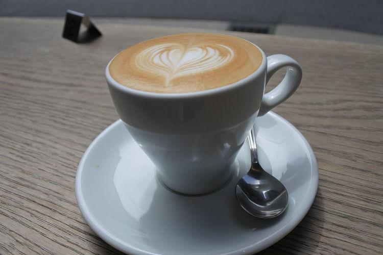 Japan Nikon Tokyo Cappuccino Coffee Coffee - Drink Coffee Cup Cup Drink Food And Drink Hot Drink Latte Mug Nikonphotography No People Table