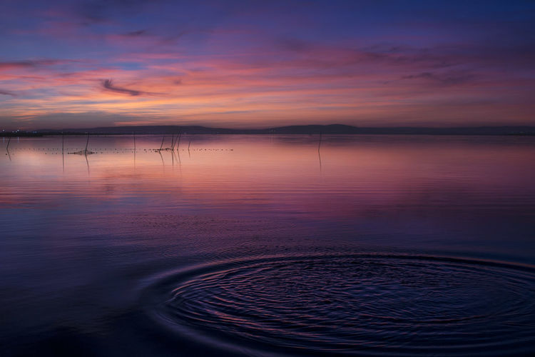Pornsky  Shadows & Lights Sunset_collection Beautiful Landscape Canon_photos Colorful Escape Exposure Goodtime Horizon Lattes Reflections Southoffrance Waves