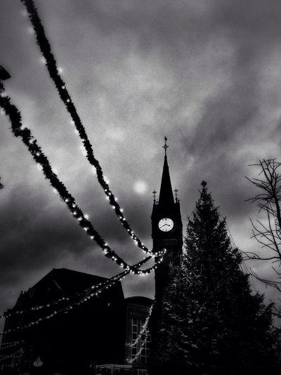 Along the Clocktower.
