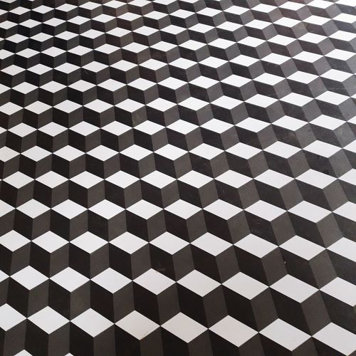 Full frame shot of tiled floor