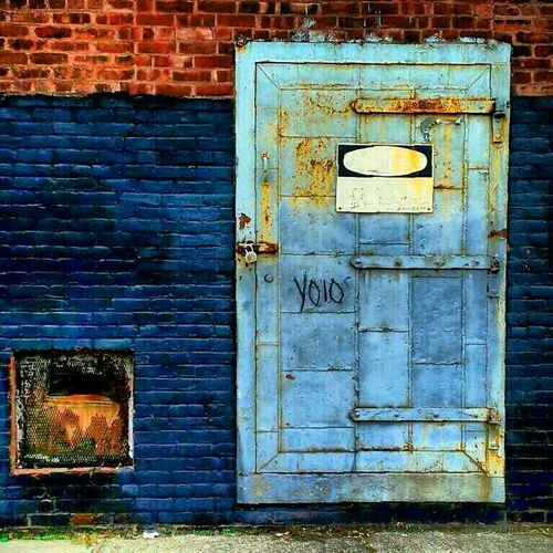 Dungeons & Dragons Doors Urban Decay Beauty Of Decay Blue Doors Abandoned & Derelict Abandoned America Filthyfeeds Lousyfeeds Nurse_bluetiful Industrialdecay Stevenvstephan Abandoned