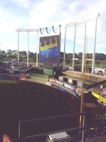 It's a beautiful day at the K. Royals Baseball