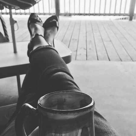 First day of summer break!! Human Leg Low Section One Person Real People Human Foot Human Body Part Indoors  Sitting Lifestyles Relaxation Day Close-up People Summer Views Blackandwhite Photography Contrast Sun Morning Light Mississippi Summer Home