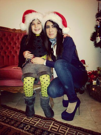 Me And Nour My Cuz Christmas Time Merry Christmas! ♡