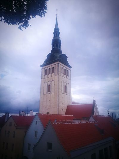 Architecture History Cityscape High Angle View Urban Skyline City Photograph Building Exterior Tallinn Old Town Old City Old Church Old Building  HuaweiP9Photography Old Building  HuaweiP9 Huaweiphotography Tourism Cityscape Lovemytown Niguliste Church Niguliste Kirik