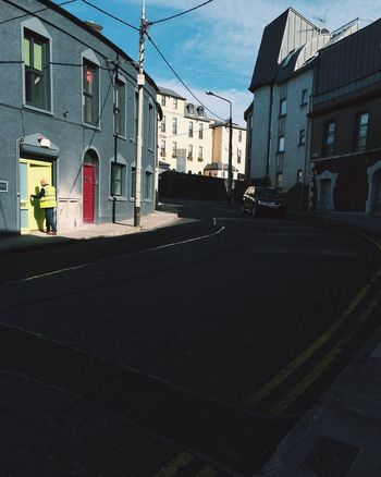 Matching colors Corkstreets Corkcityviews Cork City Ireland Shandon Light And Shadow