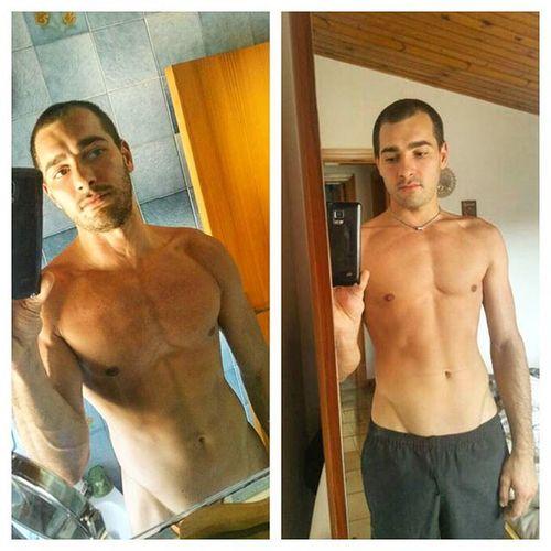 4 weeks difference.!now i start to be happy... Me Myself 4weeks Sport Bodybuildings Power Progress Healty Healtylife HealtyFood HealtyLifestyle Iger Motivation Selfy Instadaily Calistenich Calistenics