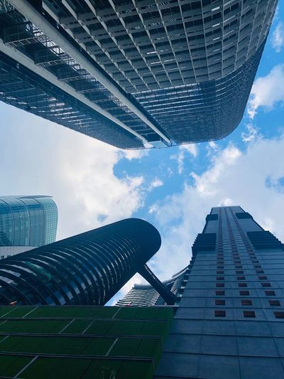 In the centre of no where Building Exterior Tall - High Office Building Exterior 17.62°