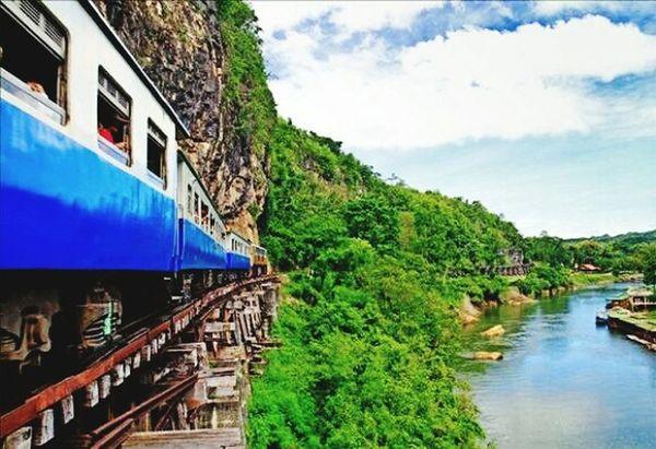 ทางรถไฟสายมรณะ กาญจนบุรี First Eyeem Photo