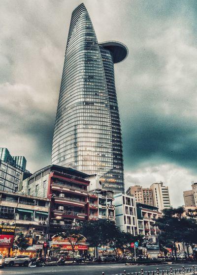 Saigon Skydeck City Urban Skyline Modern Skyscraper Cityscape Tower Tall - High Sky Architecture Building Exterior