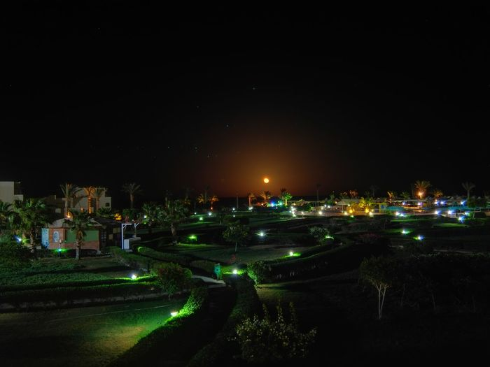 Huawei Honor 6 Plus Built Structure Illuminated Lighting Equipment Nature Night Nignt Outdoors Sky