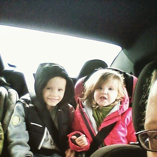 On the way to Lawrence! Kids Puffycoat Boymom Boys Shereallyloveshim