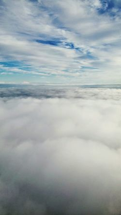 Clouds Cloud - Sky Sky Tranquility Nature No People Outdoors Scenics Day Tranquil Scene Blue Aerial View Landscape Beauty In Nature Flying