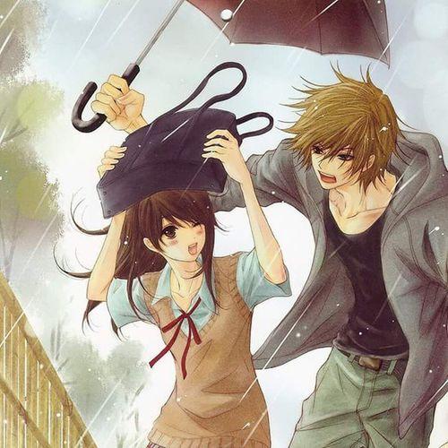 Şemsiye mi... Tam da istediğim :) Anime Whatch Manga Animelove çizgifilm Seri  Film Dizi Girl Boy