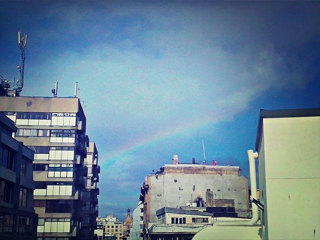 Rainbow Valparaíso Winter Sky que lindooo *-*