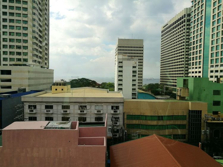 Manila, Philippines. Architecture City Phone Photography Day Building Urban Skyline Outdoors Sky