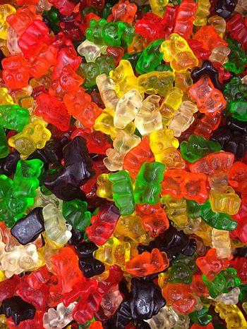 Gummy Bears Candy Sweet Sweets Color Colors Gummybears Closeup